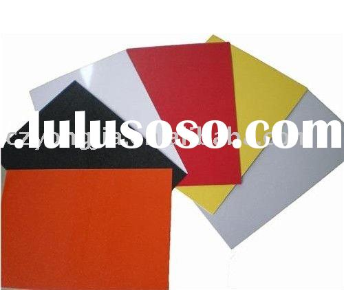 Fireproof PVDF aluminum composite panel building construction material