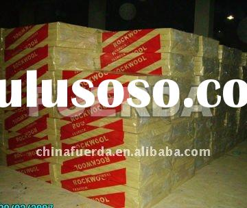 Fireproof mineral wool insulation material