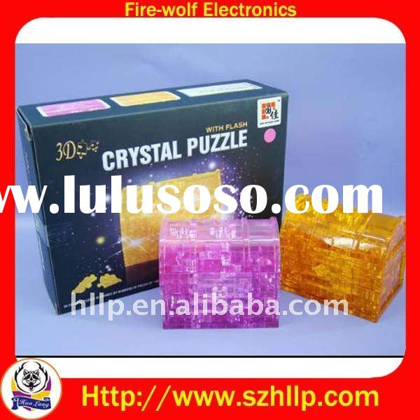 Flash Crystal Puzzle,3D Crystal Puzzle Manufacturers & Suppliers & Exporters