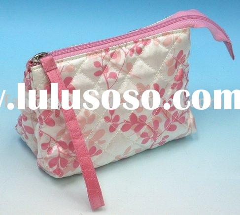 satin cosmetic bags with handles, satin cosmetic bags with handles ...