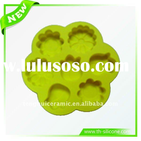 Flower Shaped Silicone Cake Mould