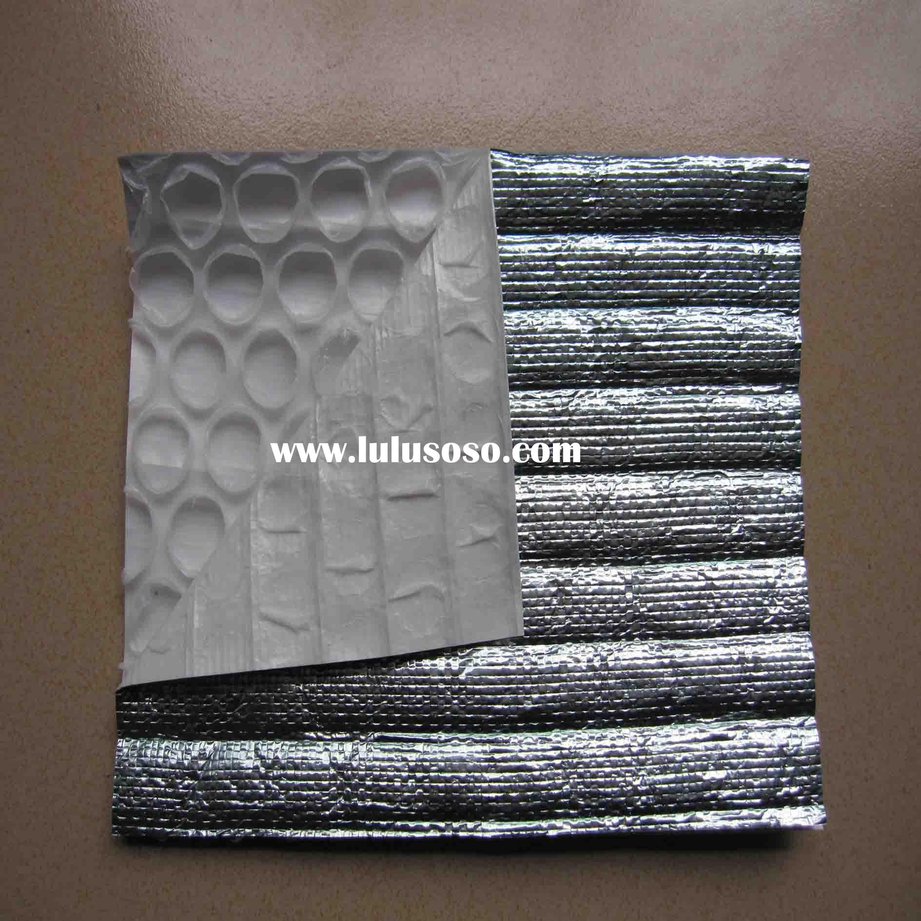 Foam Insulation with Double-side Aluminum Foil, Heat Insulation Materials