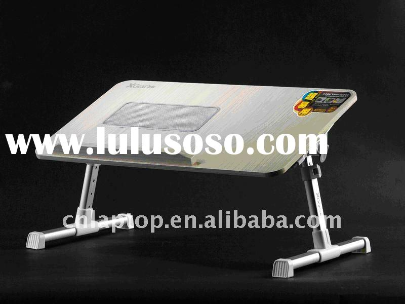 Foldable and portable laptop table with 1 usb fans A8