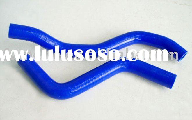 For MITSUBISHI ECLIPSE TURBO BLUE 1995 1996 1997 1998 1999 2 PCS auto parts, radiator silicone hose
