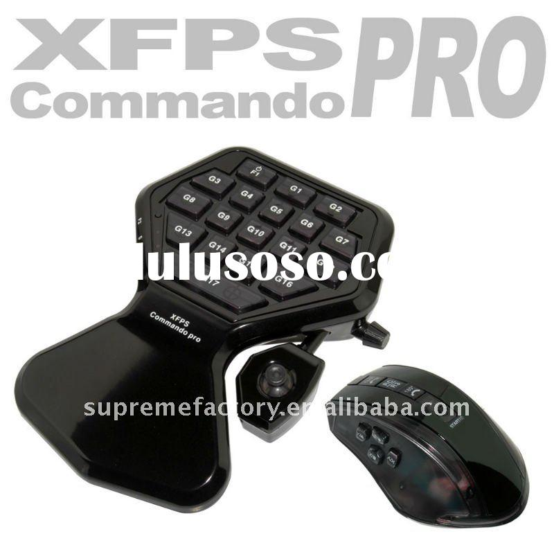 For PS3 XBox 360 Slim XCM Commando Pro Mouse Keyboard Controller