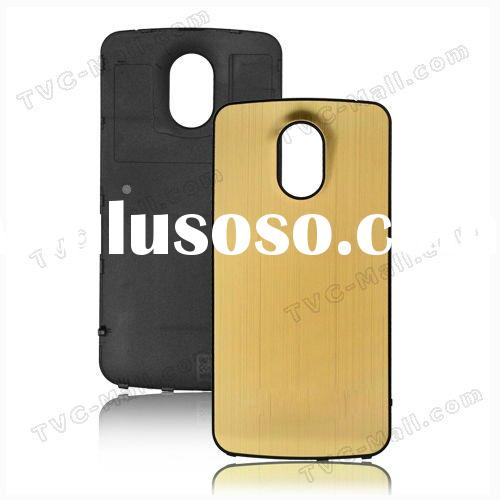 For Samsung Galaxy Nexus i9250 Metal Brushed Housing Back Cover Battery Cover