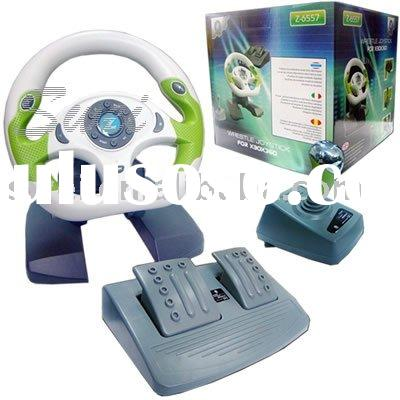 For XBOX 360 Accessories For XBOX360 Video Game Accessories 3in1 Steering Wheel