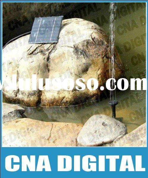 Free drop shipping service, Solar Brushless Pump For Water Cycle/Pond Fountain/Rockery Fountain