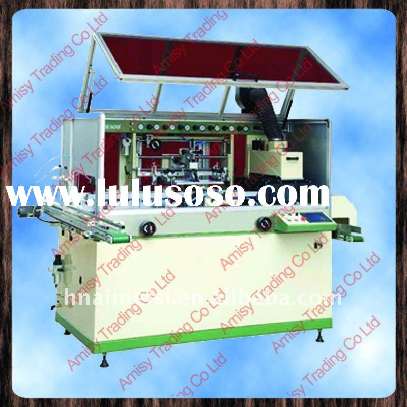 Fully Automatic Silk Printing Machine for Round and oval Container