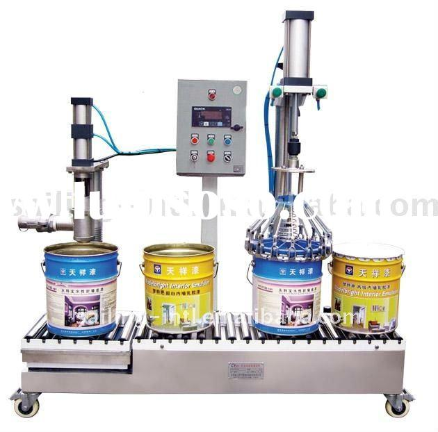 GCJ01 50 II Weighing Type Semi-Automatic liquid filling machine