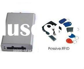 GPS tracker with RFID card reader used for driver's ID identification