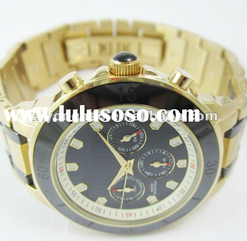 Gents style steel watches 2012 fashion high-grade watch for men