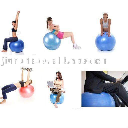 Gym ball for yoga exercise/balance free pump new