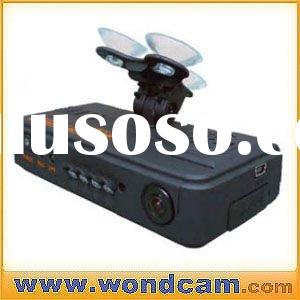 HD All in one Car camera with GPS navigation - Dual camera recording inside and outside of the car