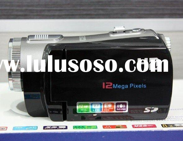 HD-C2 2.7 inch LCD 8.0 Mega Pixels 5MP CMOS 8X Digital zoom digital video camera camcorder #1