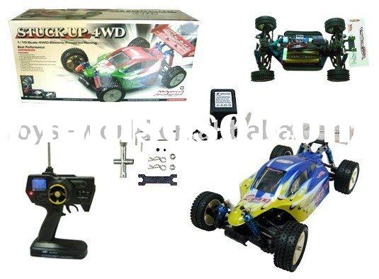 HJ470448 rc car 1:10 high speed electronic rc car w/digital remote controller
