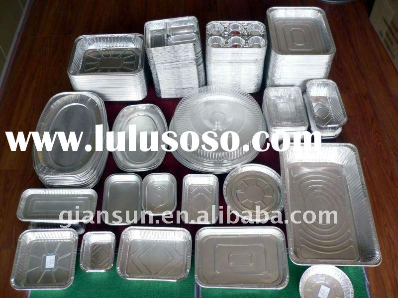 HOT SELL Aluminium Foil Dairy Food Container With Lid