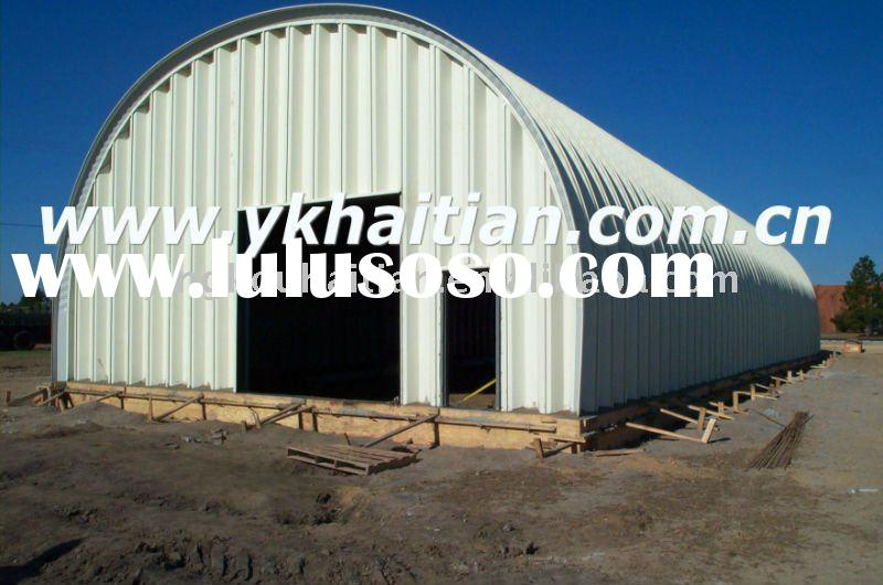 HT-Super Span Arch Sheet Roofing Roll Forming Machine