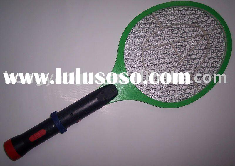 Electric Mosquito/Fly Hitting Racket mesh screen