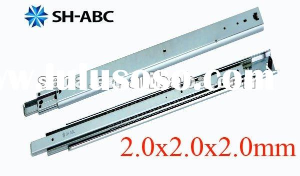Heavy duty full extension ball bearing drawer slide