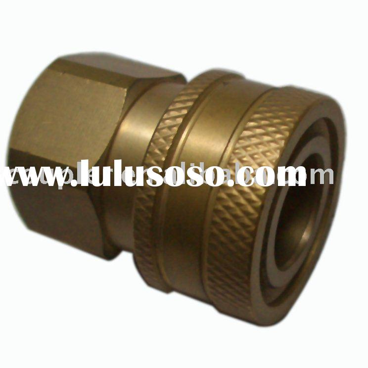 "High Pressure Washer Hydraulic Brass quick coupler 3/8""NPT Female Coupler"