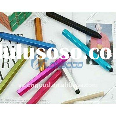 High Quality Metal Stylus Pen for iPod Touch iPhone 3G 3GS 4G 4S iPad 2