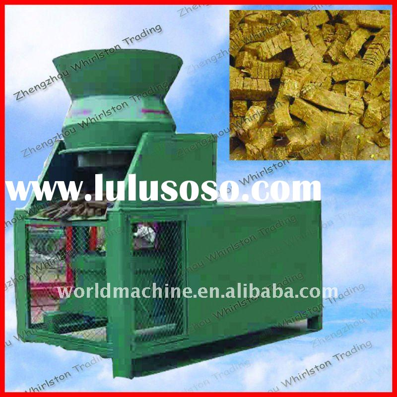 High output rice husk briquette machine