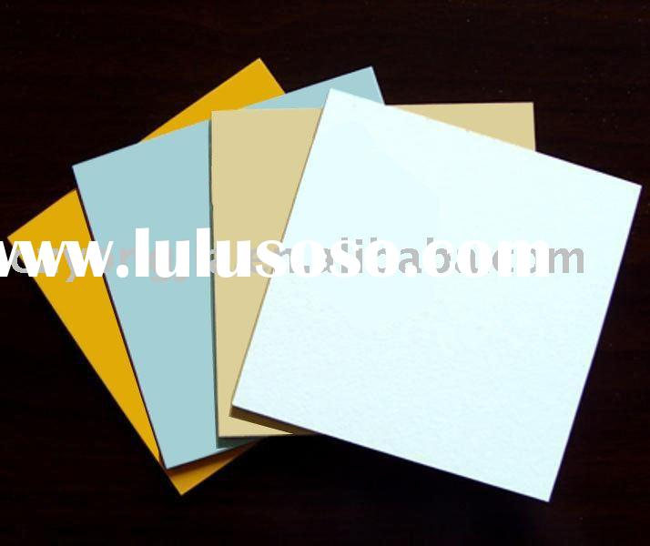 High quality 4mm*0.4mm brushed PVDF aluminum composite panel fireproof material