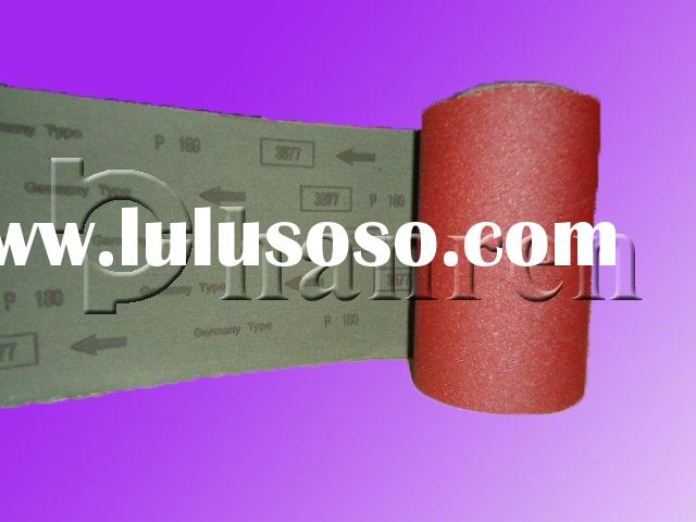 High quality aluminium oxide abrasive cloth roll(sand cloth,emery cloth)