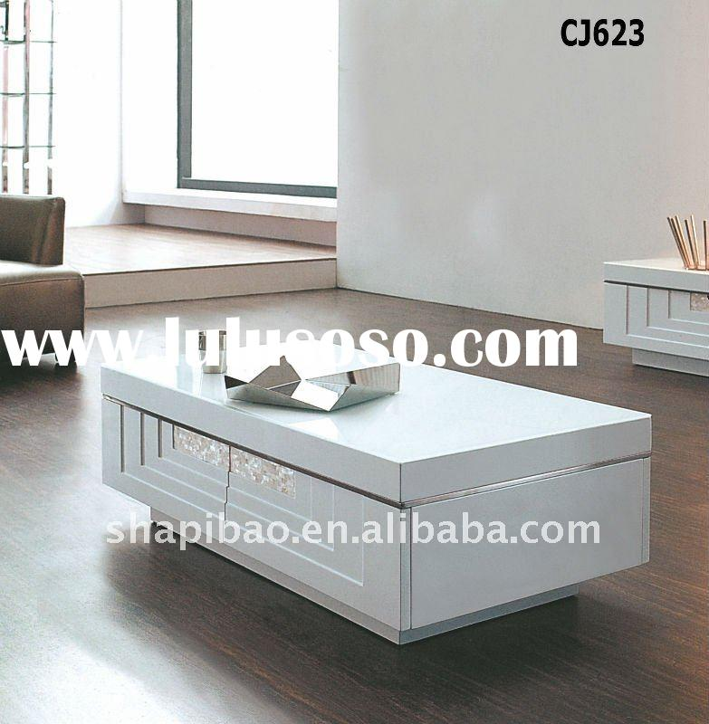 High quality wooden coffee table living room furniture