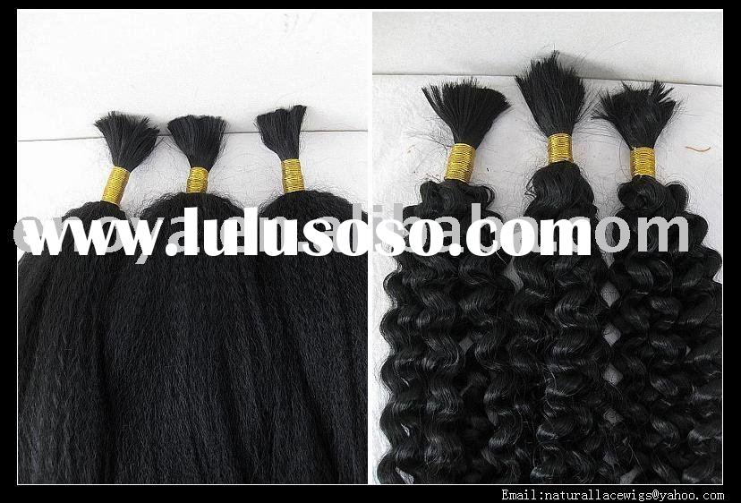Highest Quality Heat Resistant Synthetic Bulk Hair