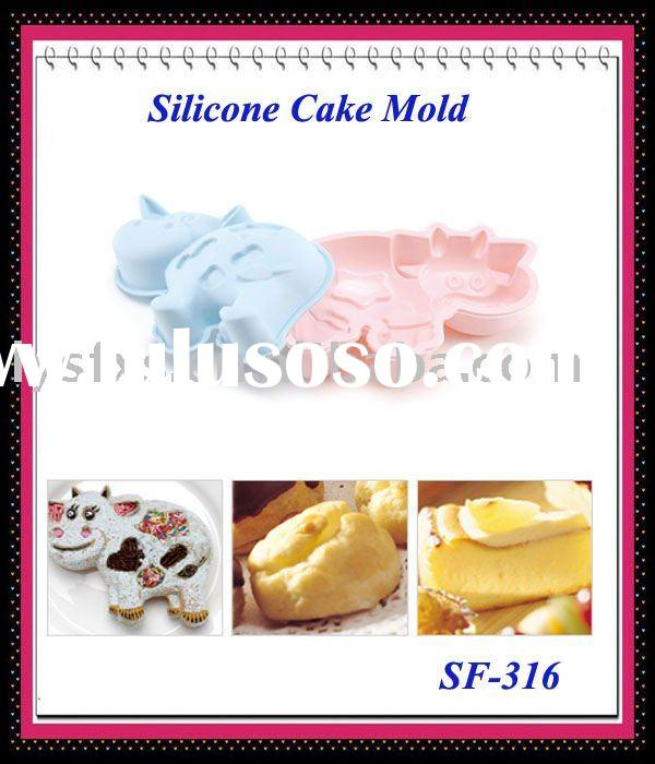 Hot Sell Animal Shaped Silicone Cake Mould