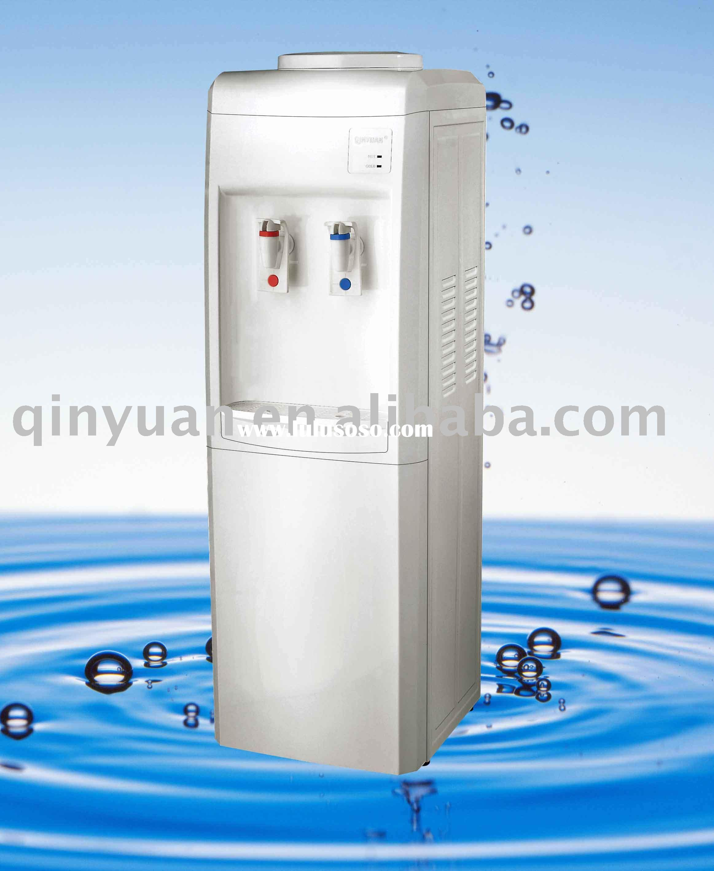 Hot cold water dispenser,home office bottled stainless steel water cooler dispenser BY82