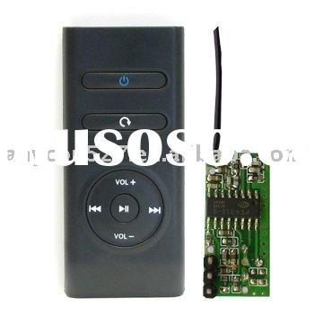IR/RF remote control with USB transmitter
