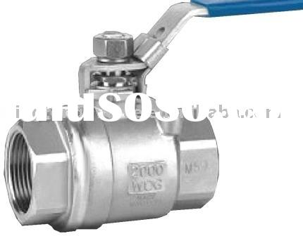 Industrial Stainless steel Thread Ball Valve