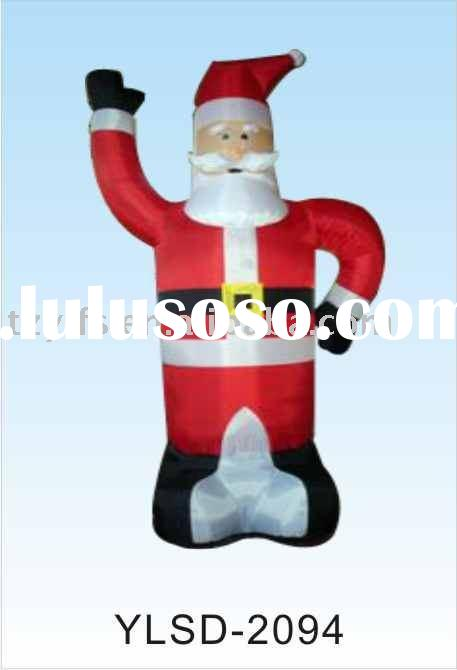 Inflatable Christmas Santa Claus/Inflatable Decoration