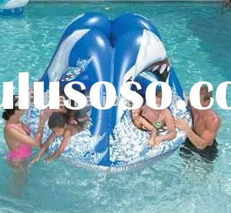 Inflatable Pool Shark Attack Play Gym,inflatable Lake Shark Attack Play Gym,inflatable float Shark A