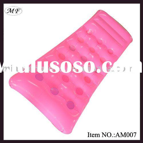 Inflatable air mattress\ inflatable floating mat\ inflatable beach mattress\ PVC air mattress