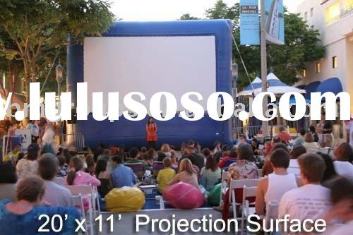 Inflatable movie screen,Outdoor inflatable screen