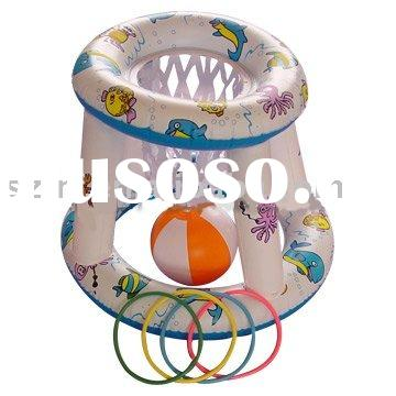 Inflatable water basketball hoop,Inflatable pool basketball hoop,inflatable float basketball hoop