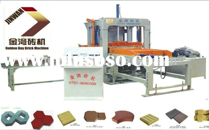 Interlock paving block making machine,industry block equipment