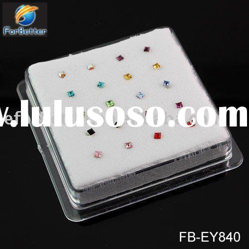 Jewelry, Hot Selling Fashion 925 silver 316l body piercing studs . FB-EY840