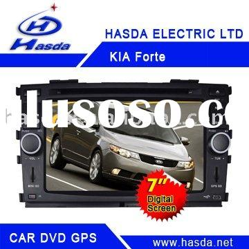 KIA Forte DVD (7 inch),with GPS,Bluetooth,DVD player ,TV,Radio function,USB&SD Card port