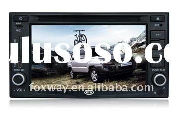 KIA Rio/Carnival/Carens/VQ 03-07 double din Car DVD GPS player
