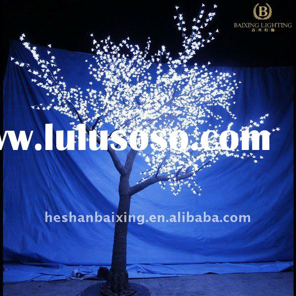 LED artificial tree light in wonderland