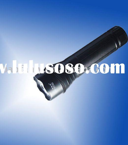 LED flashlights/LED rechargeable torches/rechargeable lamps/LED plastic flashlight