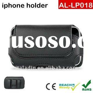Leather Pouch Protective Carrying Cell Phone Case for Apple iPhone