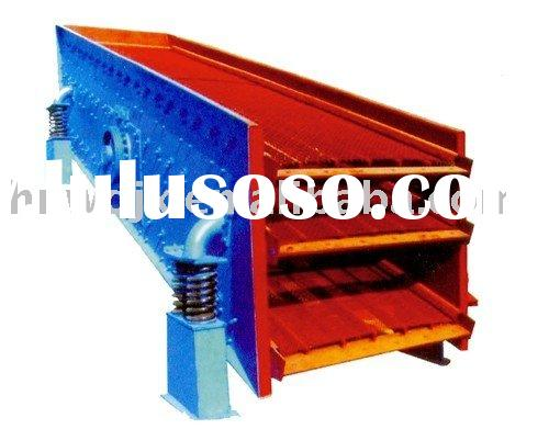 Liner vibrating screen,brick making machine,block making machine