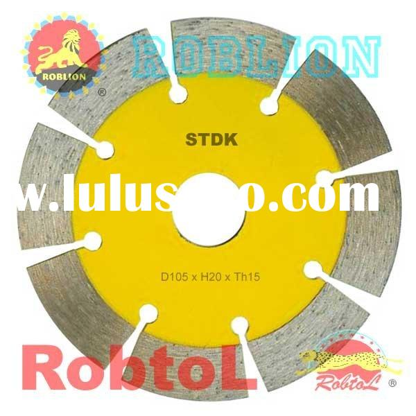 "Lion Segment Diamond Cutting Saw Blade/Cutter/Wheel/Disc (4""~9"")"