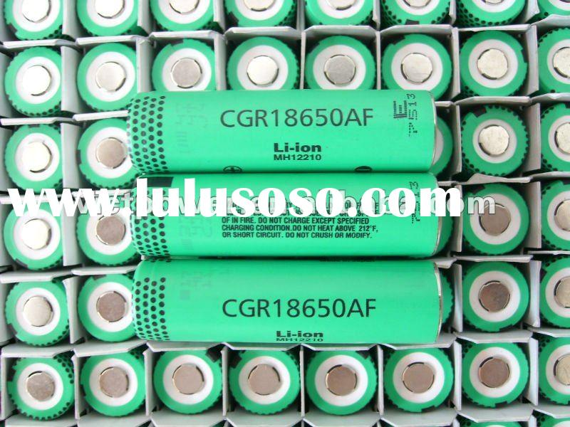 Lithium battery cell Panasonic NCR18650A 3100mAh battery cell 3.7V batteries cells